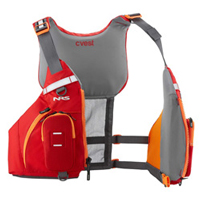 Sit On Top Kayak High Back Buoyancy Aids From NRS, Yak & Palm
