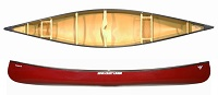 Nova Craft Prospector 17 Tuff Stuff light Canadian open canoe