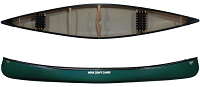 Family sized Nova Craft Prospector 17 SP3 triple layer plastic canoe for sale