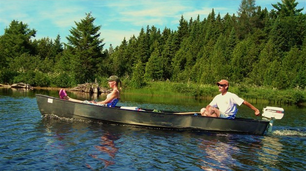 Old Town Rogue River 154 SS | Square Stern Open Canoe for