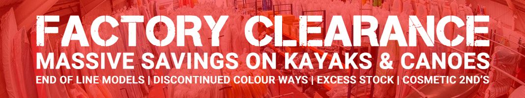 Factory Clearance Offers On Kayaks And Canoes At Norfolk Canoes