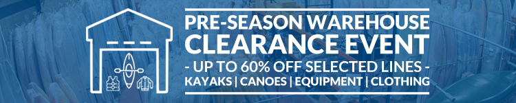Norfolk Canoes Pre-Season Warehouse Clearance Sale