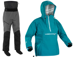 Clothing specifically designed for ladies who canoe and kayak