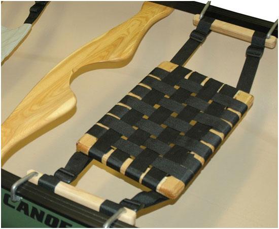 Wooden canoe parts