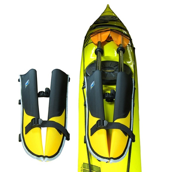 The Northwater Paddle Scabbards are Perfect for Keeping Your Spare Sea Kayak Paddle Safe and Secure Whilst Paddling