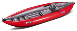 Gumotex Twist 1 solo inflatable kayak for sale