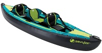 2 Person Sevylor Ottawa Touring Inflatable Kayak For Sale