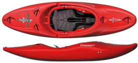 Dagger Mamba river runner kayak for sale