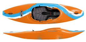 Dagger GT series of whitewater kayaks in Club and Action spec outfitting for sale