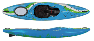 Dagger Katana Action Spec Crossover General Purpose Sit In Side Whitewater & Touring Kayak Electron Colour