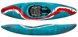Dagger Noamd Top Spec High Performance White Water Kayak Aqua Fresh