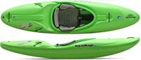 LiquidLogic Flying Squirrel river running kayak