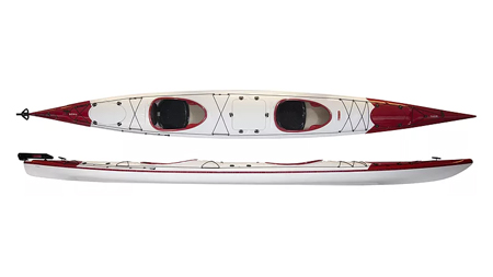 Norse Thor Cheap Affordable Tandem Composite Sea Kayaks For Sale At Norfolk Canoes