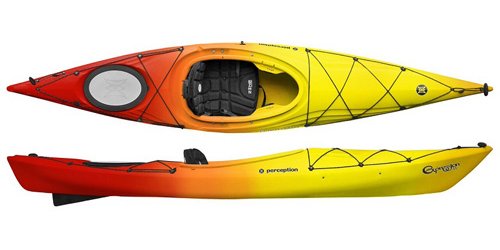 Perception Expression 11 The Best Selling Short Lightweight Touring Kayak In The UK