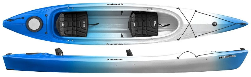 Perception Prodigy II 14-5   Tandem Touring Kayak - Norfolk