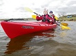 Perception Prodigy II 2 Person Touring Kayak Offers Easy Comfortable Paddling