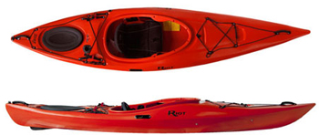 Riot Edge 11 The Best Cheap Quality Comfortable Touring Kayak