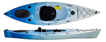 The Riot Quest 10 HV kayak with large cockpit