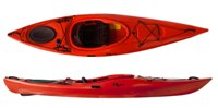 Riot Edge 11 touring kayak from Norfolk Canoes