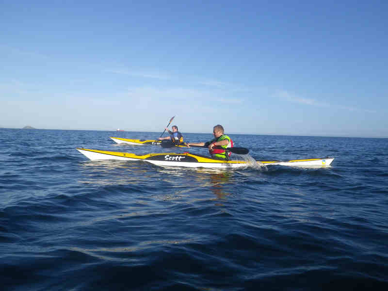 Sea Kayaks are a great way to get out on the water and explore the coastlines with added surfing fun.