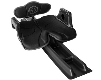 The Black Out seat in the Wave Sport Fuse is comfortable and great value for money