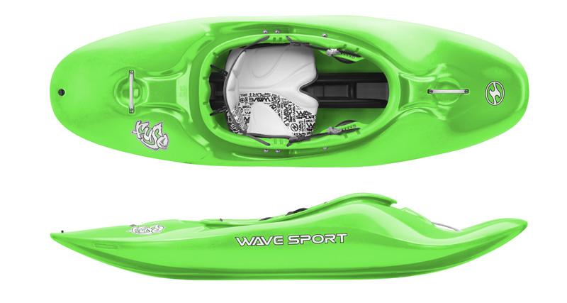 Wavesport Fuse | White water Playboat kayaks