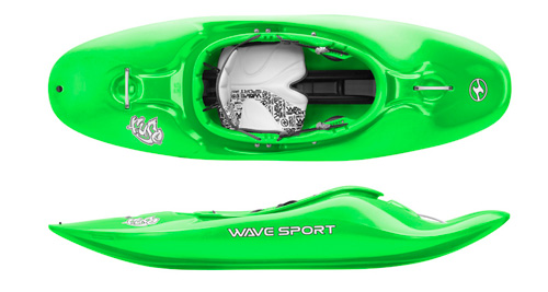 Wave Sport Fuse playboat in Sublime