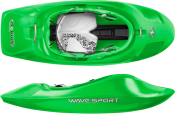 Wave Sport Mobius Freestyle White Water Kayak For Sale