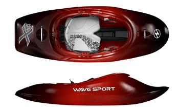Wave Sport Project X Whitewater Freestyle Playboat