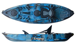 Enigma Kayaks Cruise Angler Fishing Sit On Top Kayak Cheap Deluxe Package For Sale
