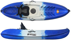 Enigma Kayaks Flow Budget Solo Sit On Top Cheap Entry Level Package Deal
