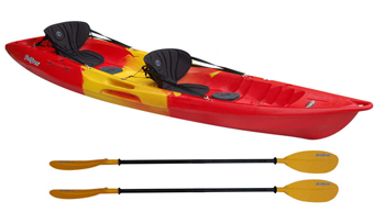 Feelfree Gemini Sport family tandem sit on top kayak