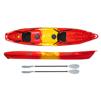 Feelfree Corona Family Sit on Top Kayak seats and paddles Package Deal for sale