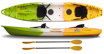 Feelfree Corona 3 person family sit on top kayak