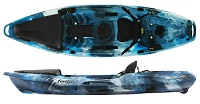 Feelfree Moken 10 Angler is a super-stable fishing kayak