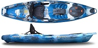 Feelfree Moken 10 Lite sit on top kayak is easy to lift