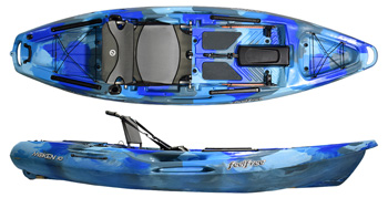 Feelfree Moken 10 Super Stable Sit On Top Fishing Kayak For The Larger Paddler