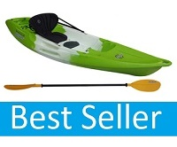 Feelfree Nomad Sport solo sit on top kayak package deal with seat and paddle