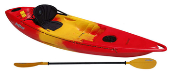 Feelfree Roamer 1 Cheap Solo Sit On Top Kayak Package For Sale Including Seats & Paddles From Norfolk Canoes