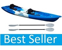 Feelfree Gemini Sport Tandem Sit on Top Kayak Package Deal with seats and paddles