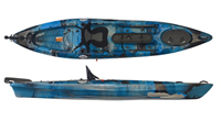 Fun Kayaks Fishing Pro 12 kayaks for sale