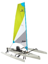 The superb Hobie Adventure island Mirage Drive sailing kayak for sale