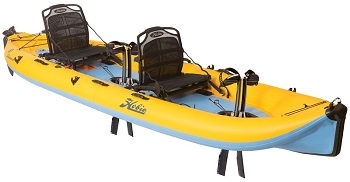 i14t from Hobie - Tandem inflatable kayaks with 180 Mirage Drive system