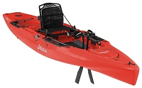 Limited Edition Hobie Outback pedal drive fishing kayak