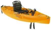 Hobie Sport short sit on top kayak with Mirage Pedal Drive for sale with Finance Options