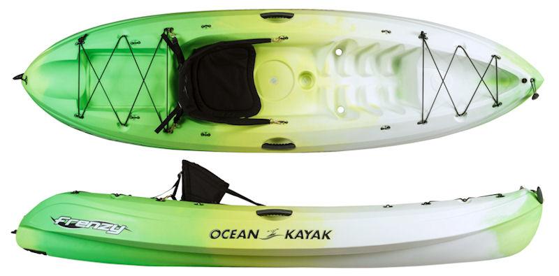 Ocean Kayak For Sale >> Ocean Kayak Frenzy Is An Extremely Popular Model Of Sit On Top Kayak