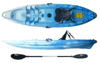 Riot Escape 9 Cheap Childrens Sit On Top Kayak Package Perfect For Smaller Adults