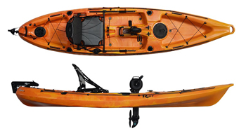 Riot Mako 12 fishing kayak