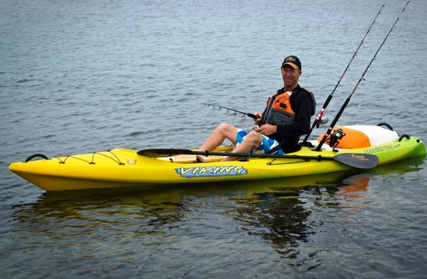 Viking profish 400 lite fishing sit on top kayaks for for Best sit on top fishing kayak