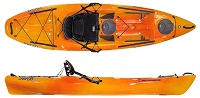 Wilderness Systems 100 solo sit on top kayak for sale